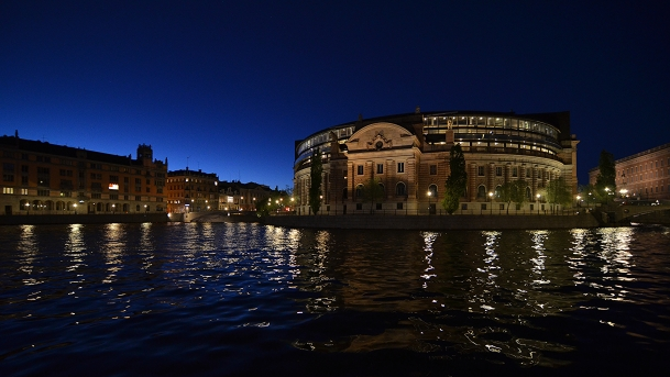 Sverige Riksdag by Richard Hopkins | cc