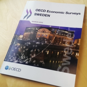 Charles Edquist as a Discussant during the OECD presentation of the 2015 report on the SwedishEconomy