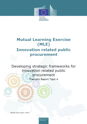 Report on functional specifications for achieving innovations by means of public procurement