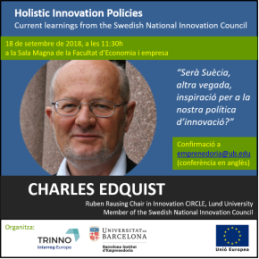 Charles is a key-note lecturer at Universitat de Barcelona