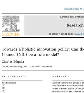 Download Research Policy article for free before April 4! Plus other news.