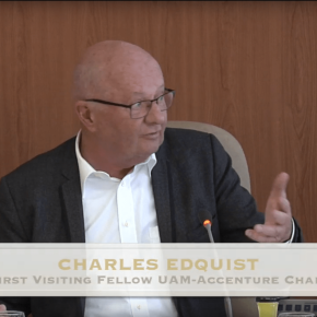 Charles at the Autonomous University of Madrid